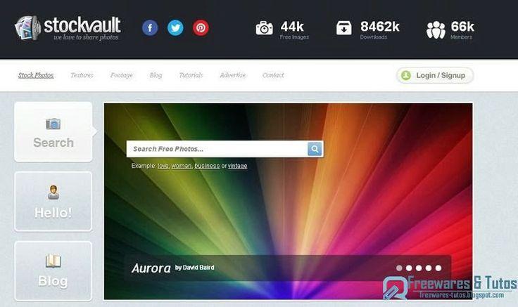 Stockvault.net : des milliers d'images libres de droit à utiliser sur vos sites ou blogs