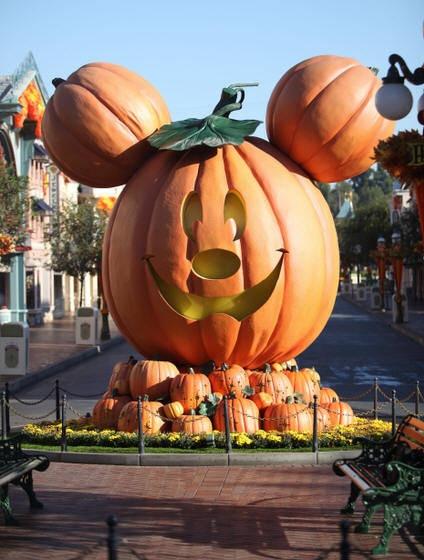 Disneyland Halloween!  Such a fun time to go!