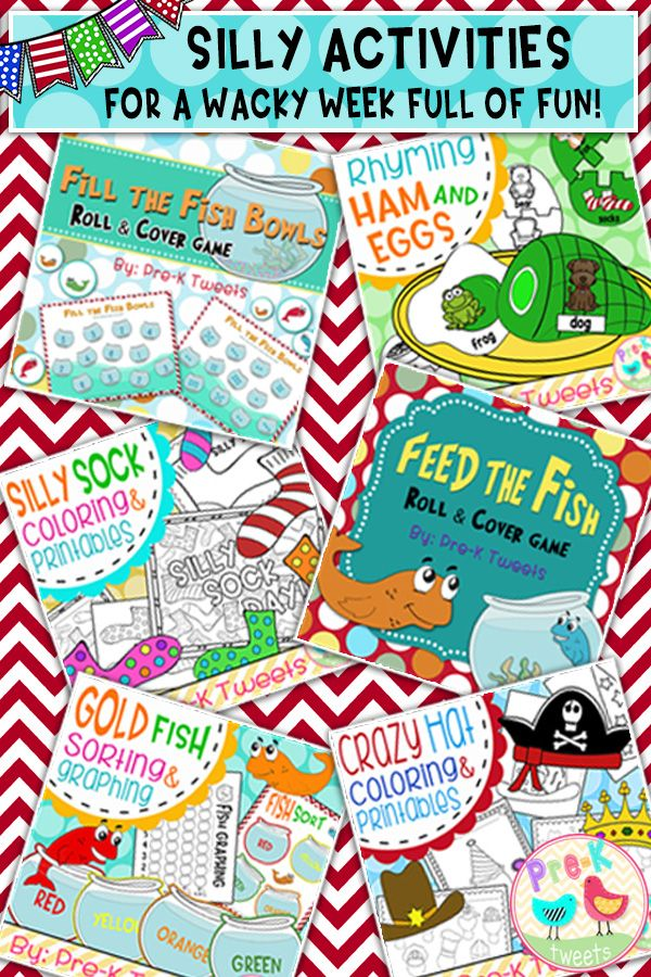Rhyming, counting, sorting, graphing, and coloring activities and printables for Seuss week!