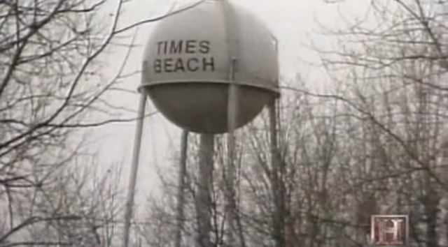 Explore the city of Times Beach, Missouri - abandoned just 60 years after its founding in 1925 due to the worst case of civilian exposure to dioxin in U.S. history. The site of the demolished ghost town is now Route 66 State Park.
