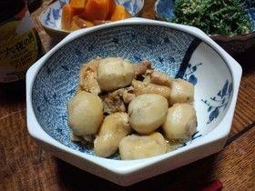 里芋と鶏の味噌生姜煮
