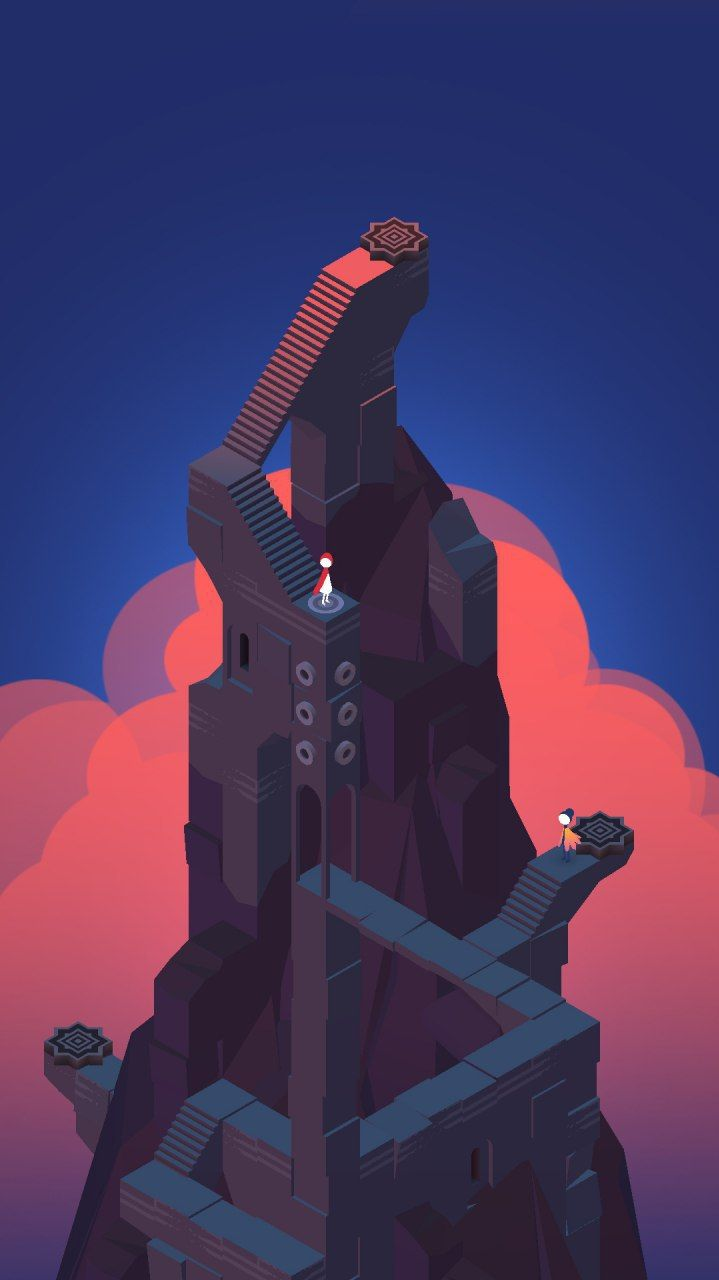 Monument Valley Iphone Wallpaper In 2020 Cool Wallpapers For Phones Monument Valley Wallpaper
