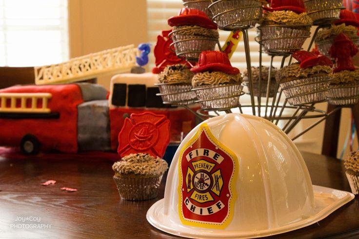 Fire Truck Centerpiece : Best images about fire truck party ideas on pinterest
