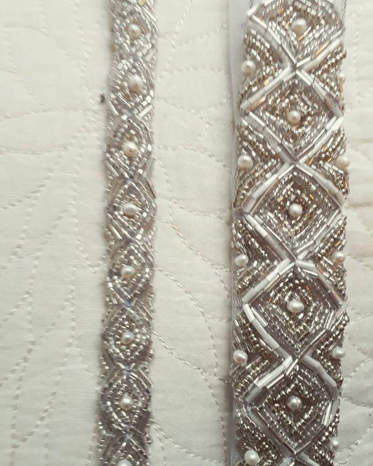 El bordado no paraaa #hautecouture #bride #embrodery #vestidodenovia #altacostura #bordado