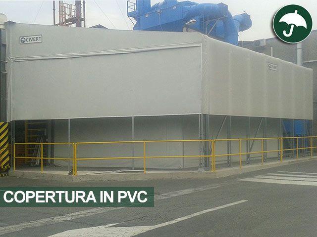 #installazione di una nuova #copertura #pvc #personalizzata in #piemonte