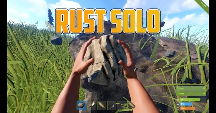RUST Solo Survival - I tried...