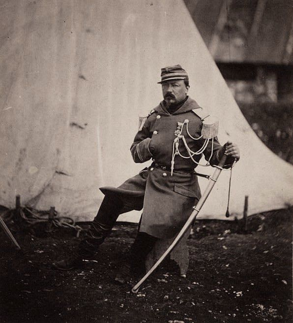 The Provost Marshal of the Division of General Bosquet