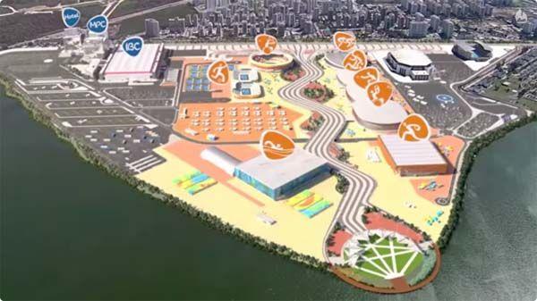 Rio 2016: Videós látványtervek az olimpia helyszínéről