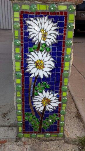 Stunning #mosaic #flowers              #mosaicflowers #mosaicart