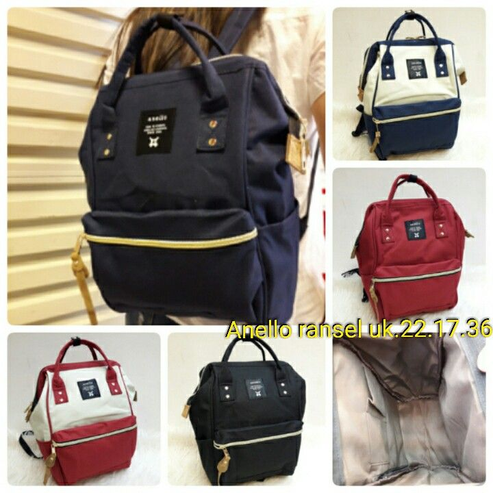 Tas Ransel Anello Backpack 6915 22x17x3 145rb