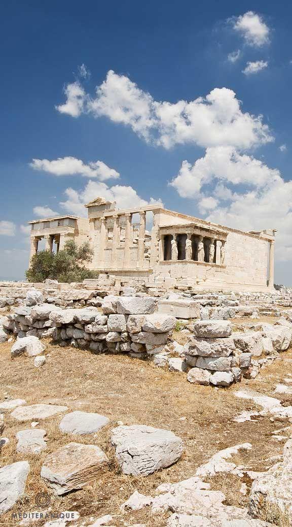 The Erechtheion, Athens, Greece