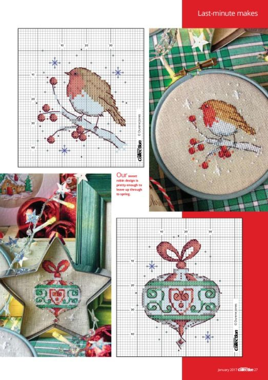 Gallery.ru / Фото #27 - Cross Stitch Collection January 2017 - Chispitas