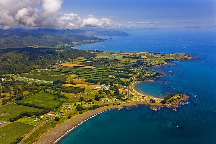 Wharekura Point, with, Te Kaha, beyond, see more at New Zealand Journeys app for iPad www.gopix.co.nz