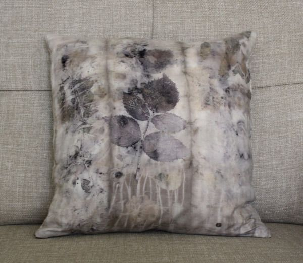 cushion cover naturally printed