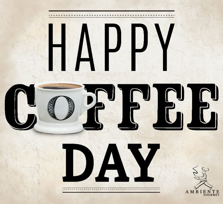 Cualquier día es un día para disfrutar el placer de un buen café. #coffeeday