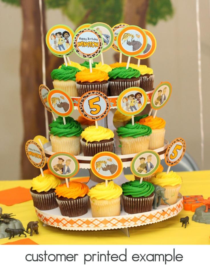 Wild Kratts Birthday Party Pack