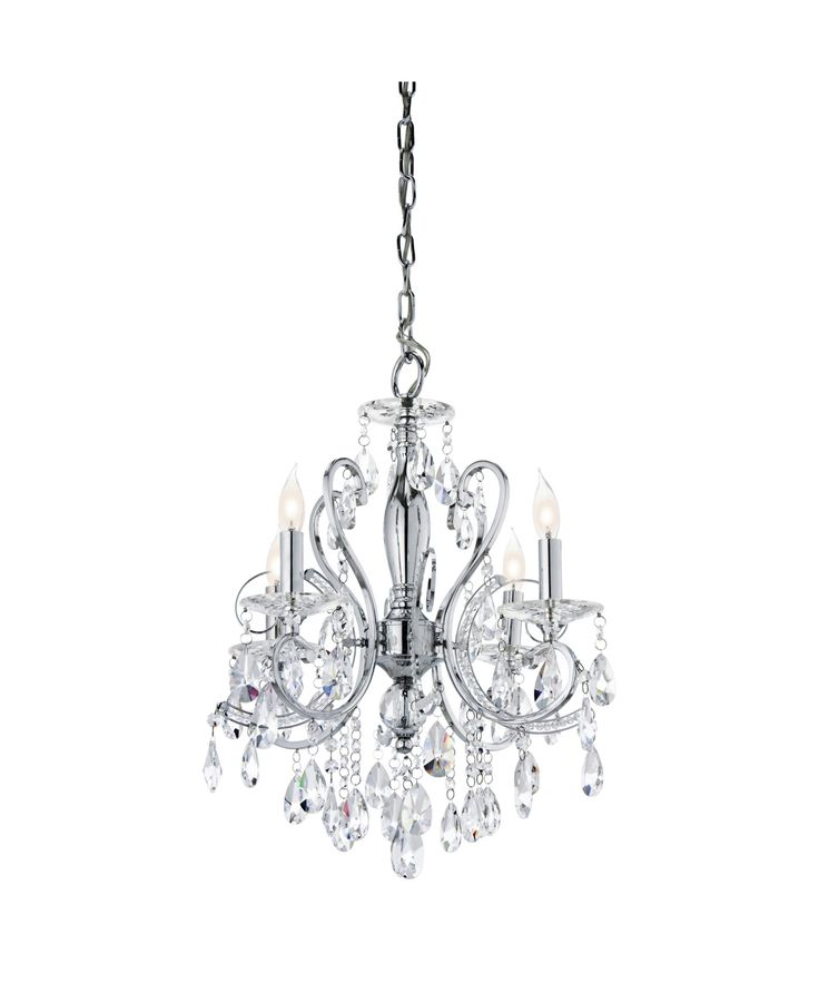 Nice Mini Chandelier For Bathroom 7 Crystal
