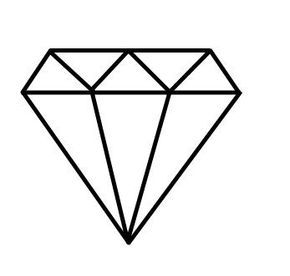 Ms de 25 ideas increbles sobre Dibujo de diamante en Pinterest