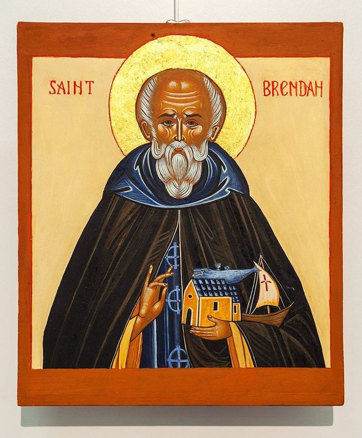 15 best Heilige Brendaan / Brendan / Icons images on Pinterest ...