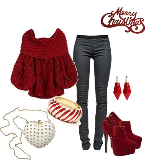25 best images about Christmas Fashion Ideas on Pinterest...