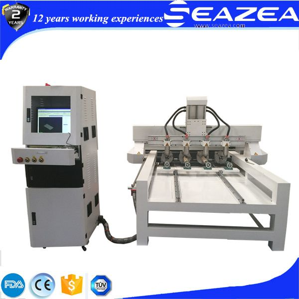 cnc router machine with 4 heads and 4 rotary, professional in producing table legs, for more pla contact: whatsapp: +86-13255419368