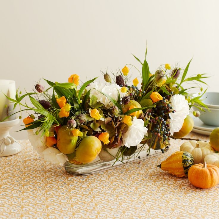 A thanksgiving centerpiece diy kiana underwood for Diy thanksgiving floral centerpieces