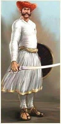 Maratha worrior