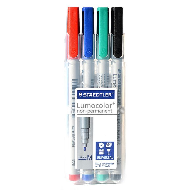 Staedtler Lumocolor Non-Permanent Overhead Projection Markers