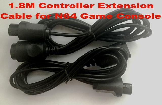 1.8 M Cable de Extensión Del Controlador para N64 Game Console