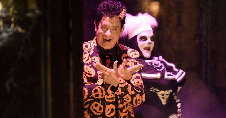 Tom Hanks brings David S. Pumpkins back to 'Saturday Night Live' #Entertainment_ #iNewsPhoto
