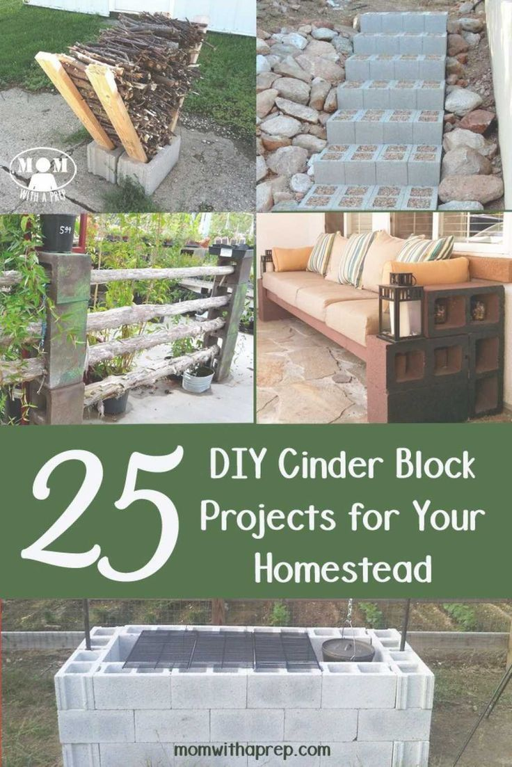 117+ Cinder Block Ideas Budget Backyard Diy Outdoor Rooms