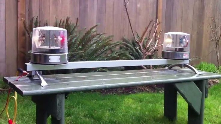 1960's police light bar.  I have my daddy's  <3