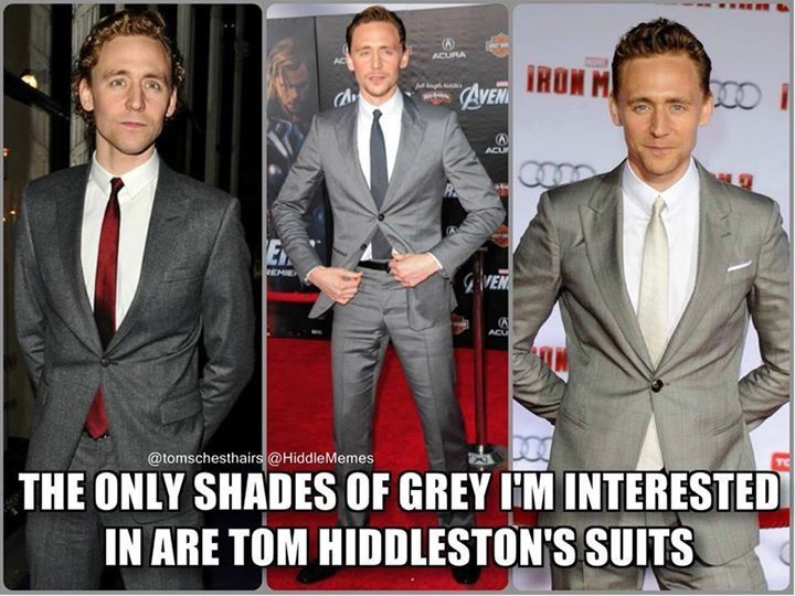 50 shades of grey (suits)