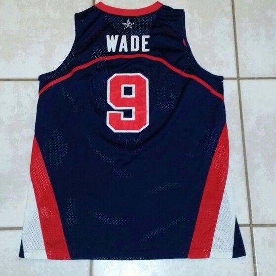 Nwt Adidas Nba Denver Nuggets Vintage Retro Jacket Coat: NIKE USA Olympics Dwyane Wade Basketball Jersey