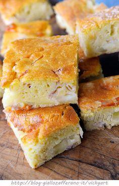 Torta rustica veloce con formaggio e prosciutto vickyart arte in cucina