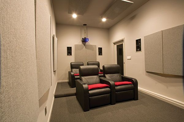 All Work And Play Cozy Small Movie Room