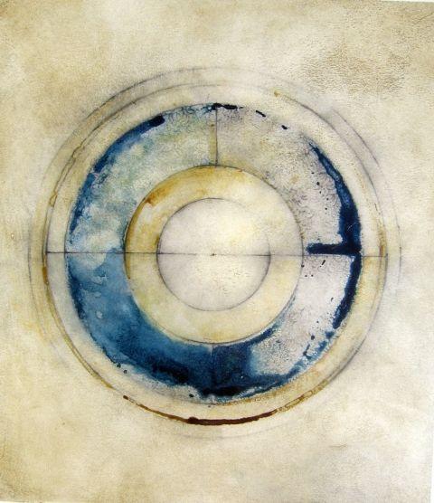 "Lisa Sartori  ""Sky/Earth"" #3Art Printmaking Abstract, 2005 Ink, Artworks, Quotes Sky Earth Quotes, Skyearth, By Luisa Sartorial, Eye Candies, Sartorial Sky Earth, Paper 9 X"
