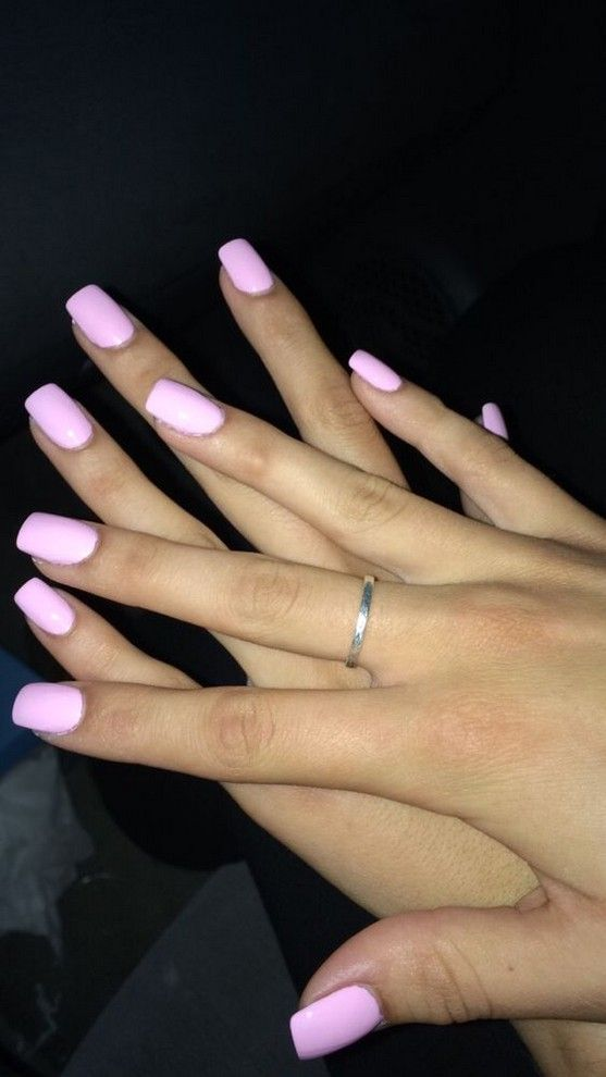 70+ Summer Best Stunning Square Nails Design include Acrylic Nails and Matte Nails – Page 55 of 71