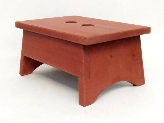 $29.00 - Our functional and decorative small sized rustic farmhouse style step stool is perfect to help children reach the sink or step up to the toilet. It's also great to give adults a little extra height when needed... Click on the image above for more information or to buy from WileWood. Thanks for your interest!