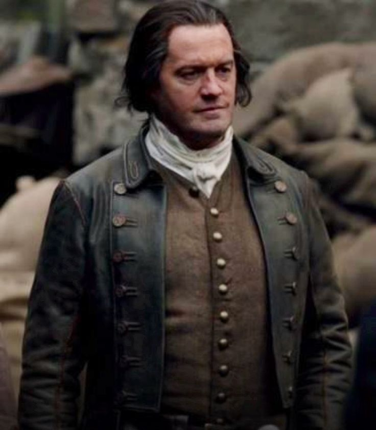 Jamie's father, Black Brian Fraser, played by Andrew Whipp