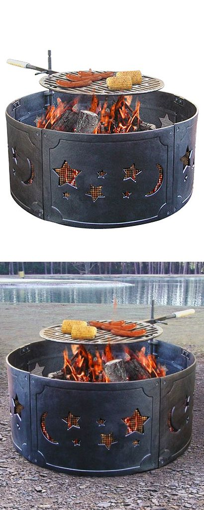 Stars and moon fire ring #product_design #outdoor
