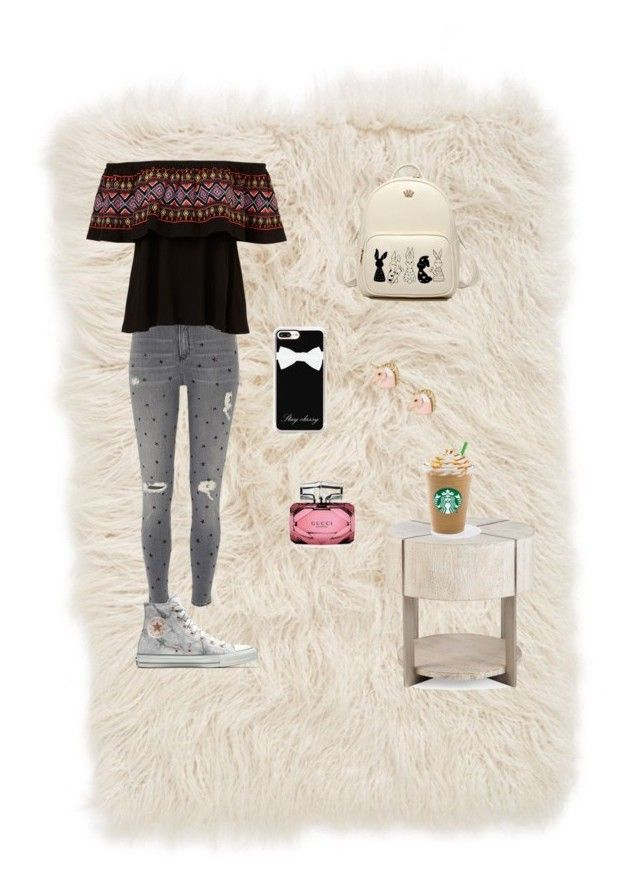 """Untitled #25"" by elizanico ❤ liked on Polyvore featuring interior, interiors, interior design, home, home decor, interior decorating, Nordstrom, River Island, Converse and Casetify"