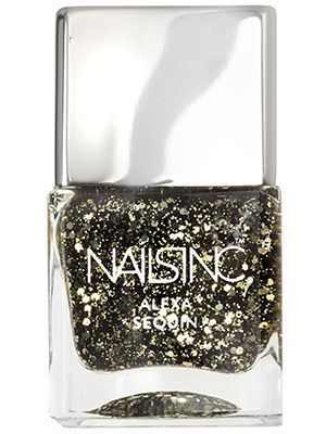 Nails Inc. nail polish in Alexa Sequin | allure.com