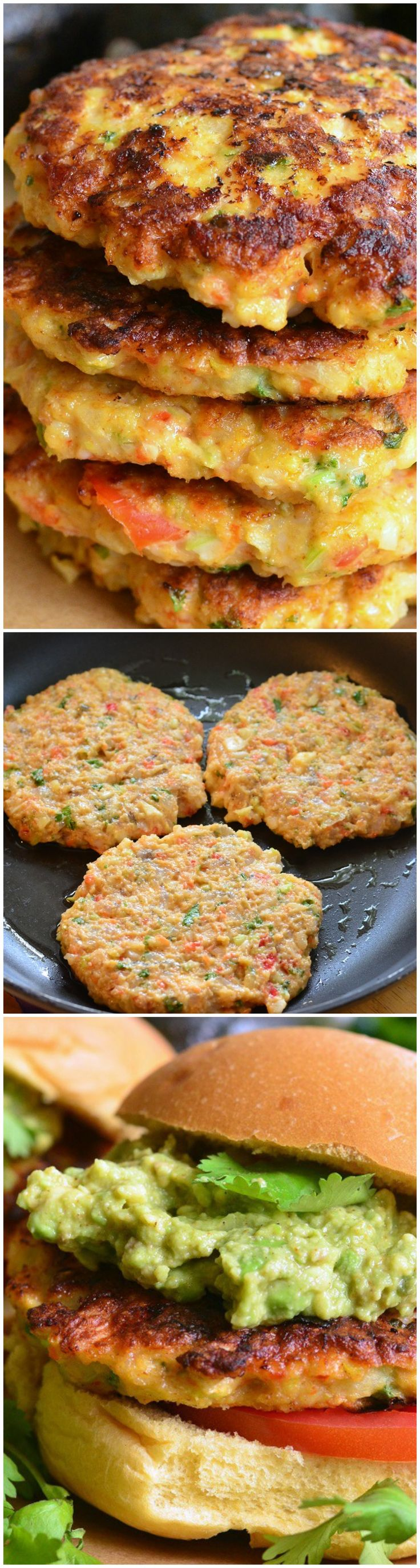 Avocado Shrimp Burgers - Will Cook For Smiles
