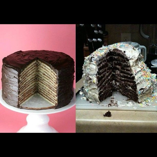 14-layer cake... Nailed it!