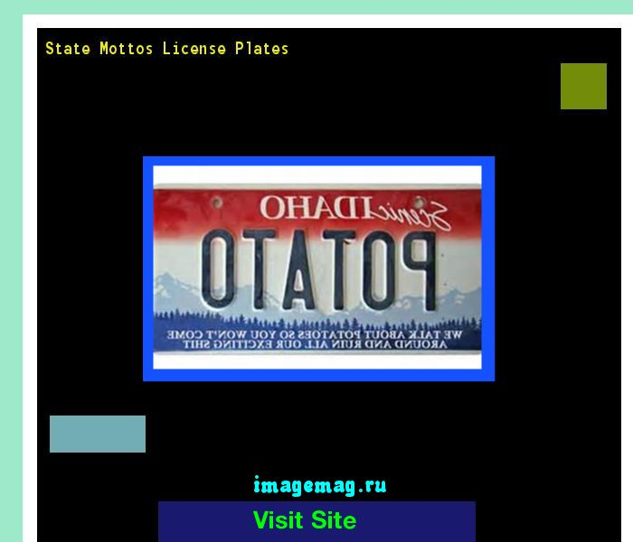 State mottos license plates 185052 - The Best Image Search