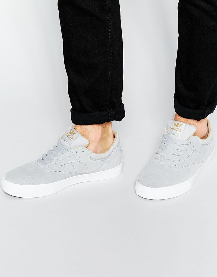 I know these are trainers, but I feel they're a touch too nice to be running around in! Team with black or indigo denim and wear on a night out.