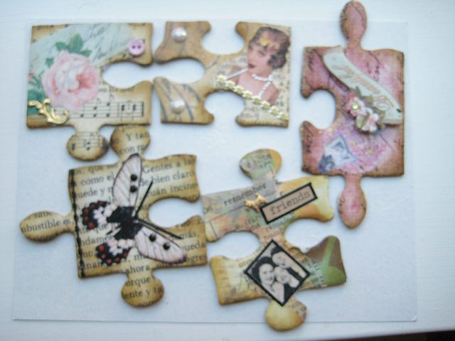 1000 images about altered puzzle pcs on pinterest for Decoration or embellishment crossword