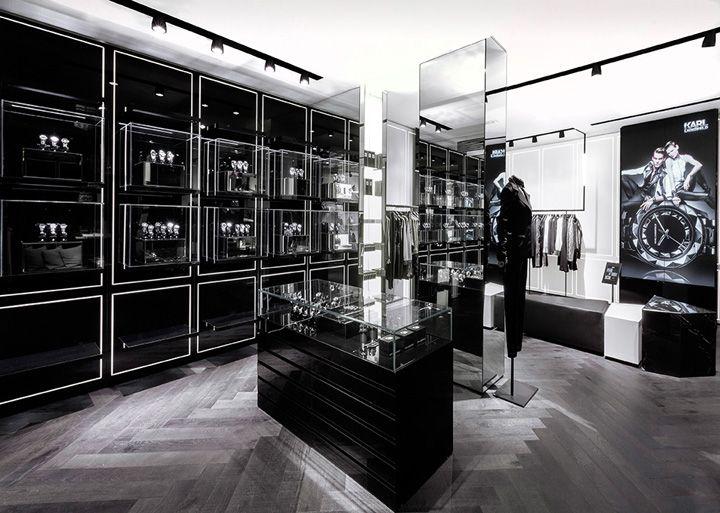 Karl Lagerfeld store Plajer Franz Studio Laird Partners Paris