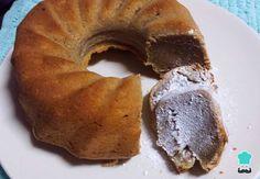 Receta de Torta de banana en licuadora #RecetasGratis #ResposteríaFácil #RecetasdeCocina #RecetasFáciles #Postres #Repostería #Torta #Bizcocho #Queque